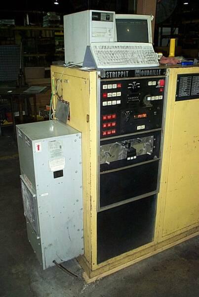 Strippit Houdaille Hecc80 Controls